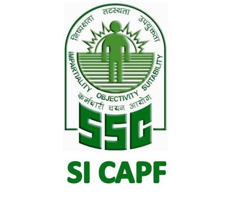 JA.007. SSC SI CAPF 2018